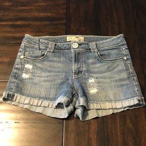 Jolt denim shorts